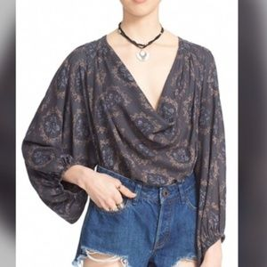 Free People Cowling Around Top
